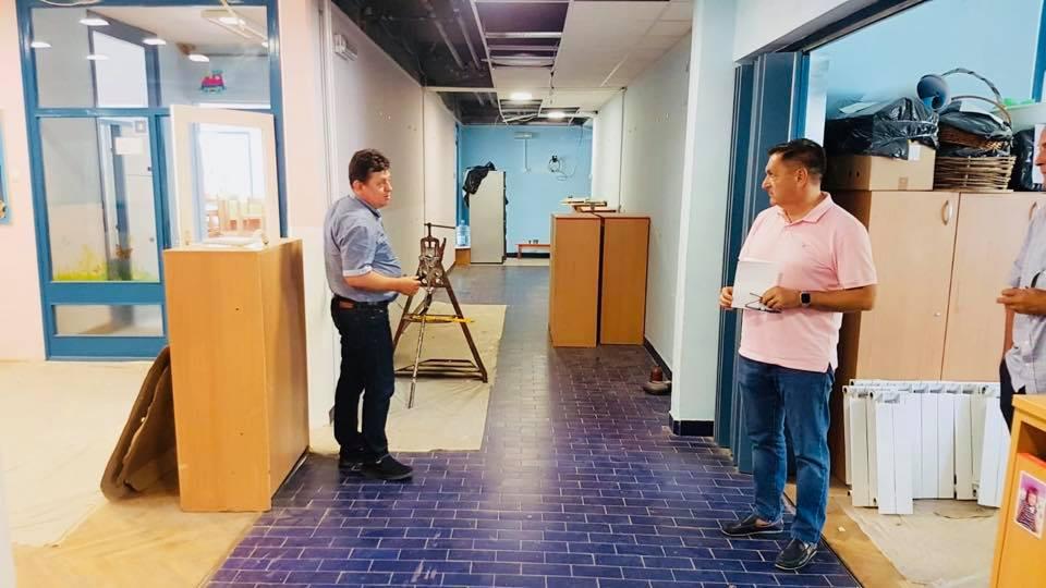 U tijeku obnova vrtića Ciciban, gradonačelnik Barišić obišao radove
